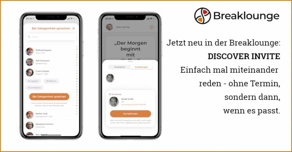App Feature Discover Invite